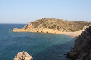 Vai beach in North-East Crete