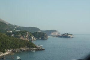 Adriatic coastline, Montenegro