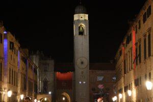 ক্লক-মিনার, Dubrovnik পুরোনো শহরে