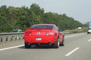 Ford GT on the Autobahn